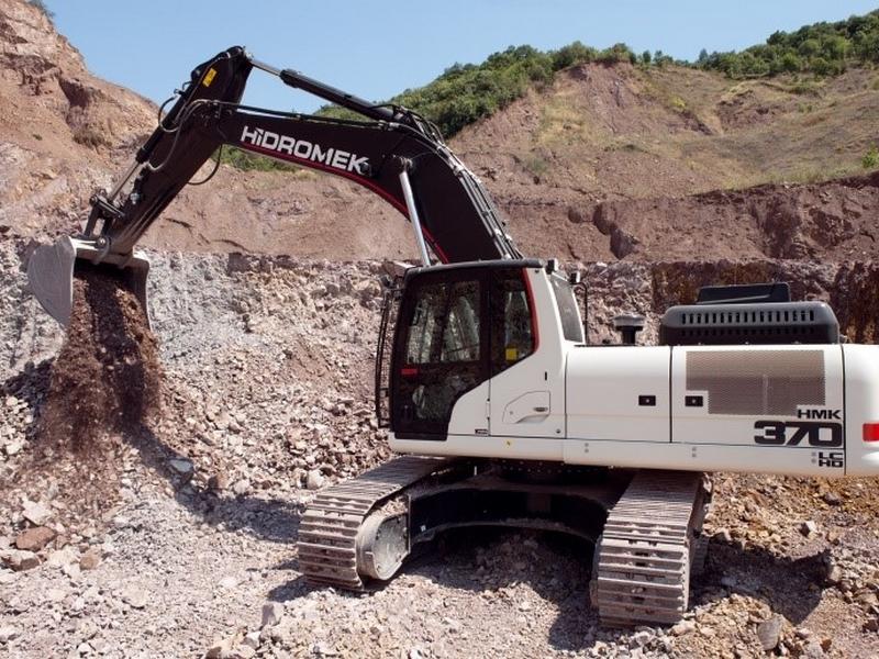 excavator Hidromek